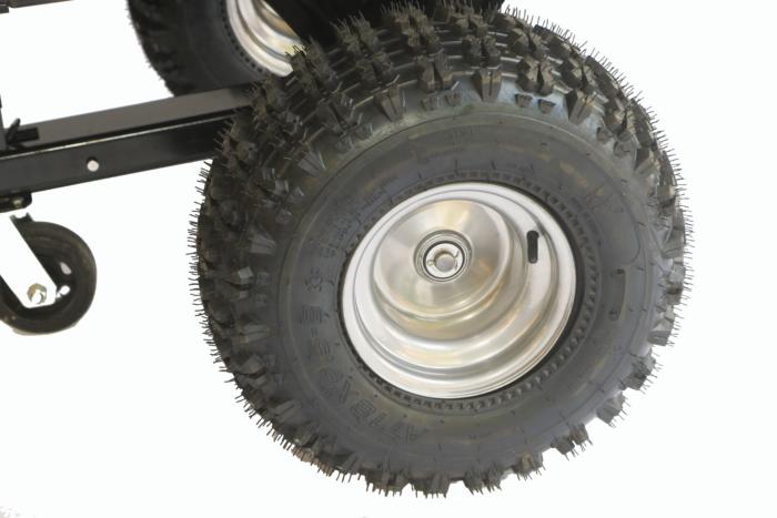 Tipper Trailer Wide Wheel